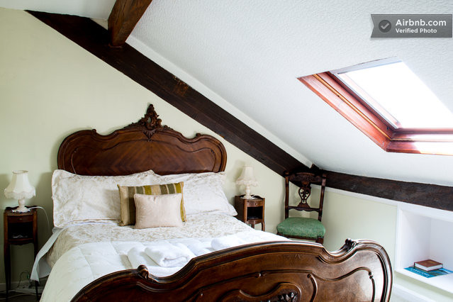 the attic, blenheim lodge B&B, lake district