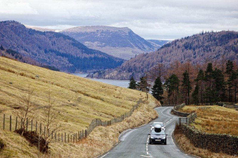 1591 motorway, cumbria