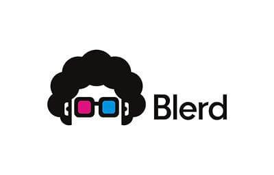 blerd logo landscape tranparent