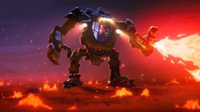 suits death love robots