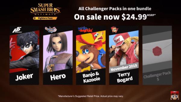 Nintendo Direct Smash Ultimate Characters