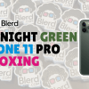 Midnight Green Iphone Unboxing