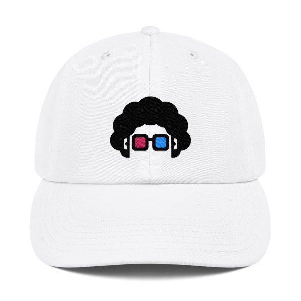 Blerd cap white