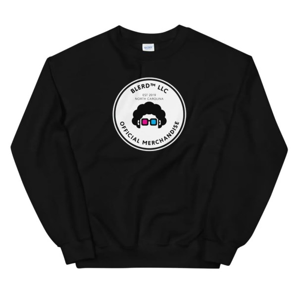 Blerd Official Merchandise Unisex Sweatshirt Black