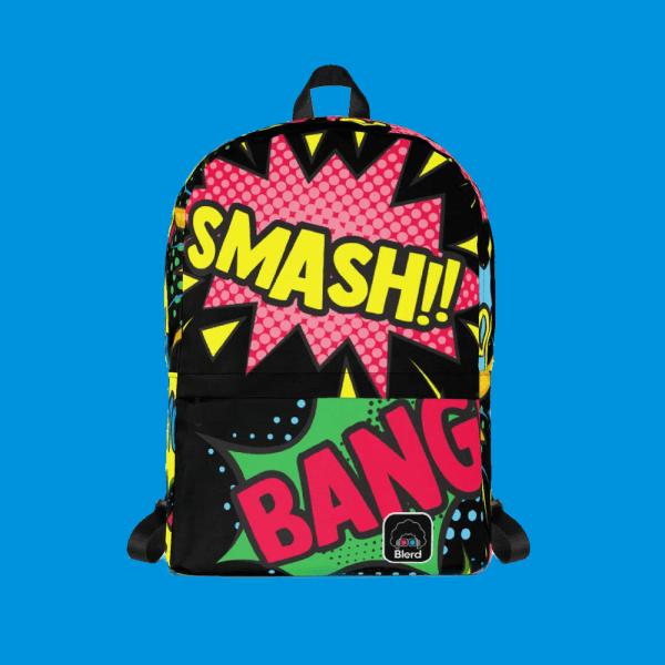 blerd comic pop backpack