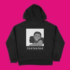 blerd inclusion unisex hoodie