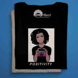 blerd positivity piq short sleeve shirt
