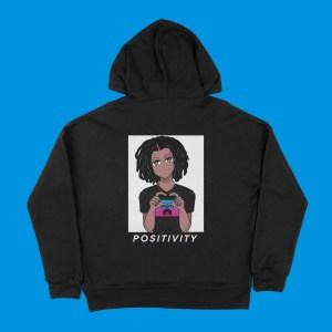 blerd positivity unisex hoodie