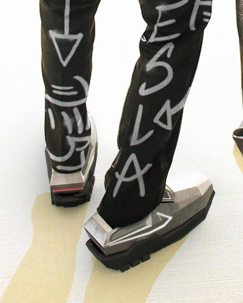 elon musk cybertruck sneakers