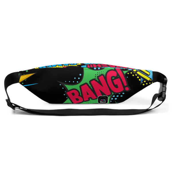 Blerd Comic Pop Art Fanny Pack 2