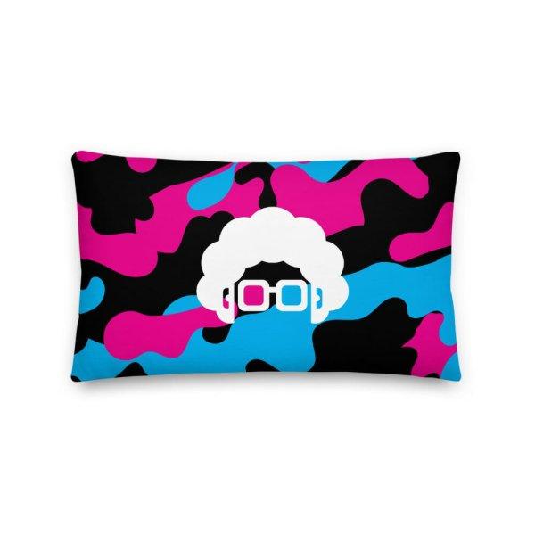 Blerd Camo Premium Pillow 3