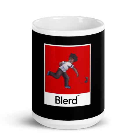 blerd rage coffee mug