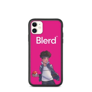 Blerd Poke Trainer Biodegradable iPhone Case