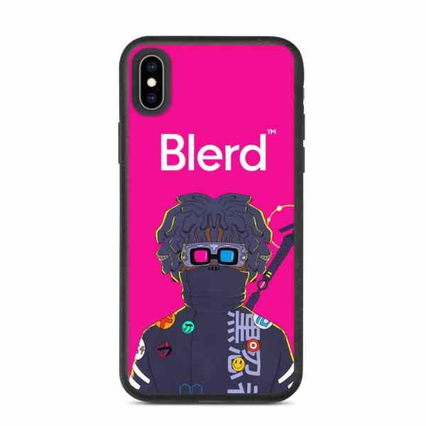CyBlerd Ninja Biodegradable iPhone case
