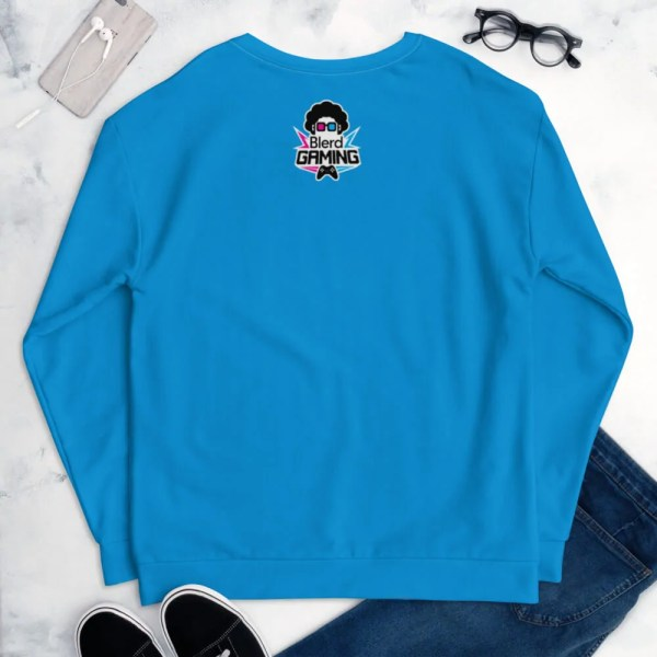 Blerd Gamer Girl Sweatshirt Back