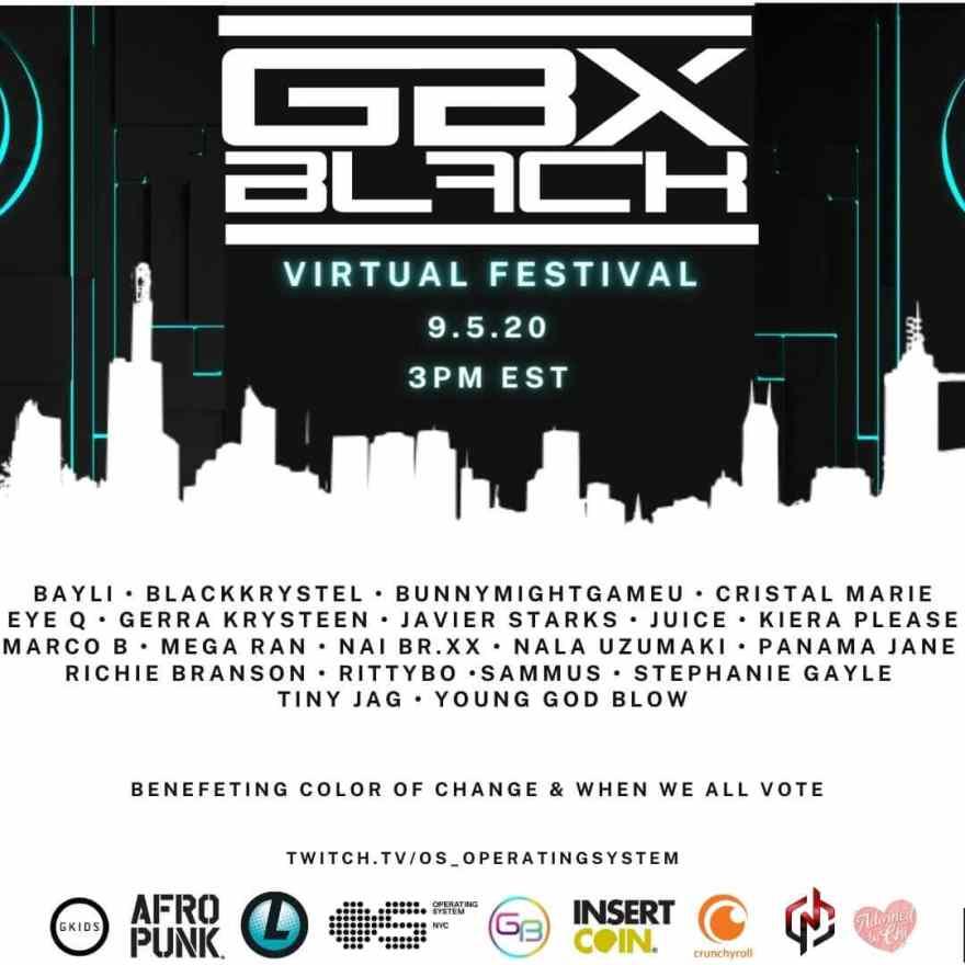 artist no icon GBX Black