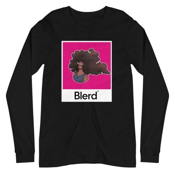 Normalize Blackness Hair Long Sleeve Tee
