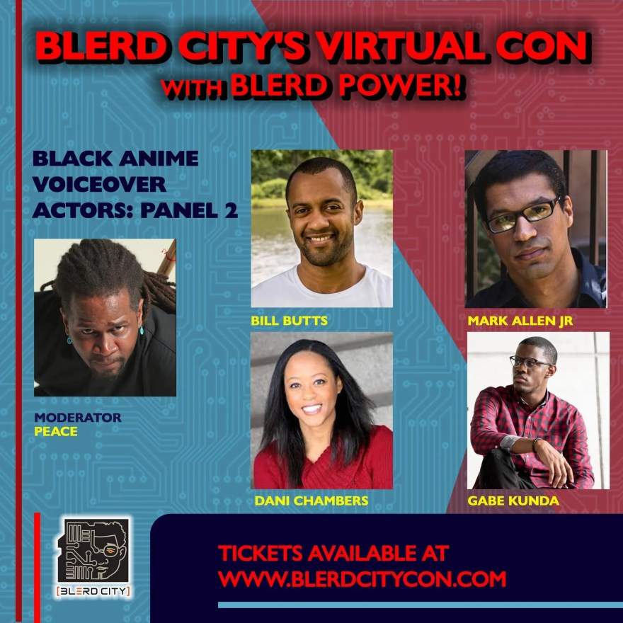 Blerd City Con Virtual Event 2020 3