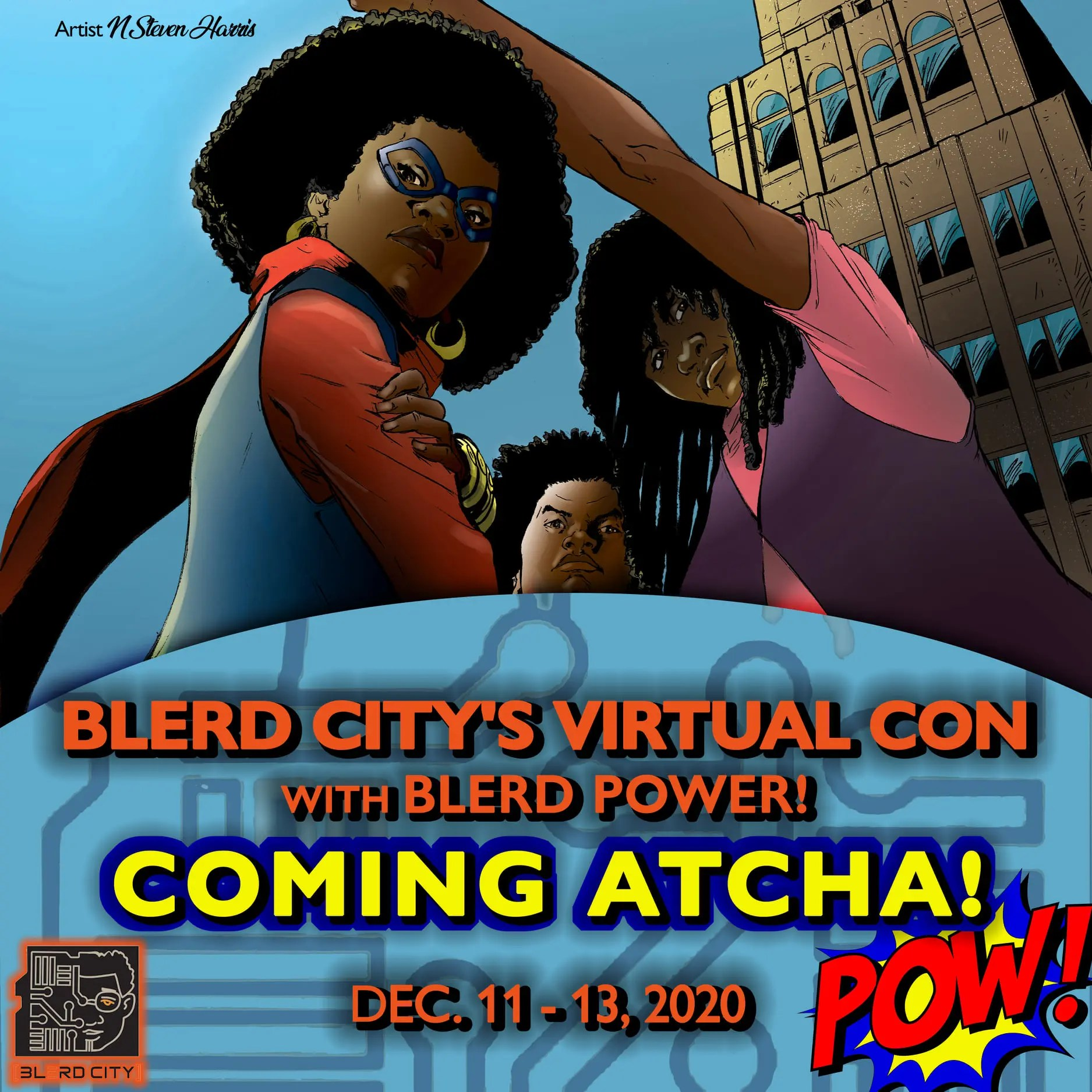 Blerd City Virtual Con
