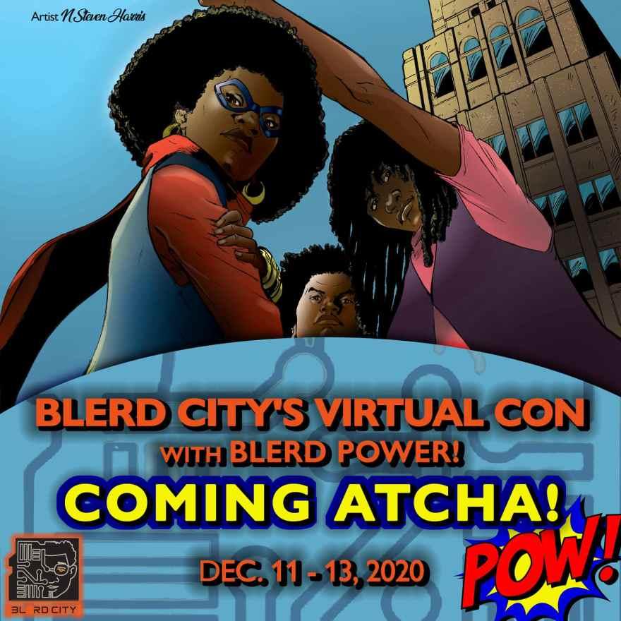 Blerd City Virtual Con