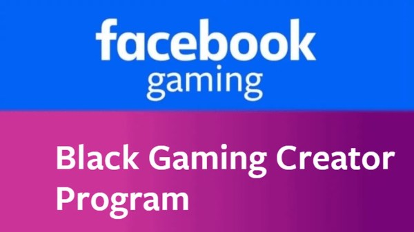 Facebook Black Gaming Creator Program