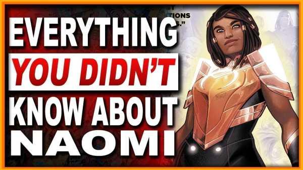 Naomi From DC Comics