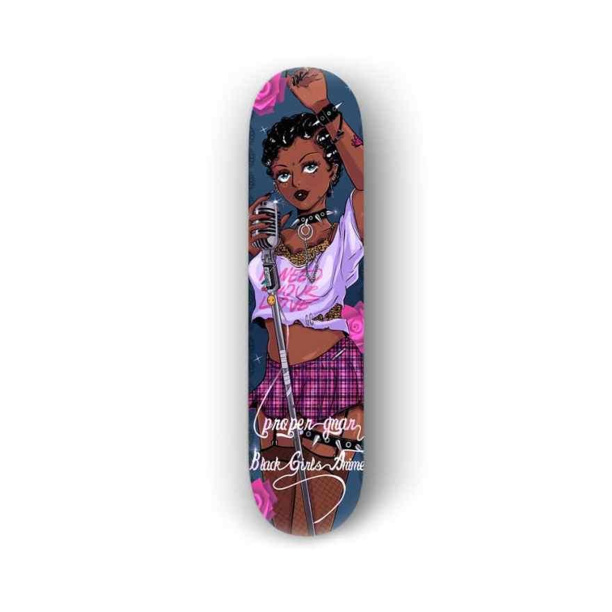 proper gnar black girls anime 7