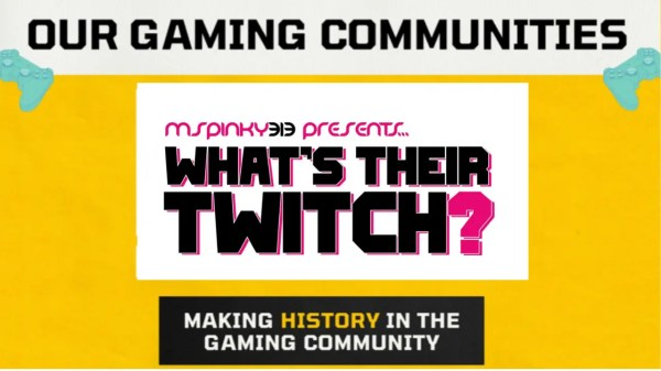 Whats Their Twitch Gaming Community