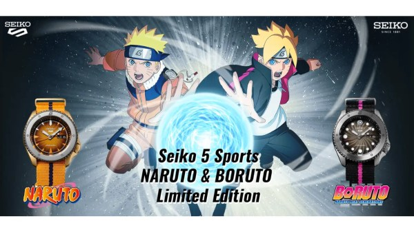 Naruto Seiko Watch Collection