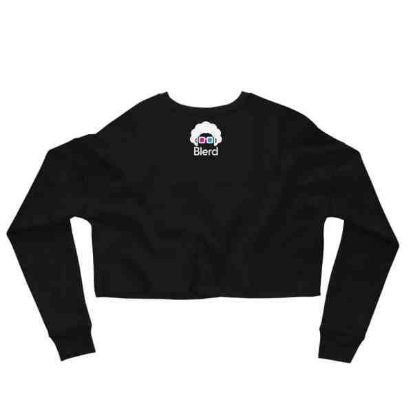 Game Over Crop Sweatshirt
