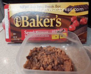 bakers chocolate heath bits