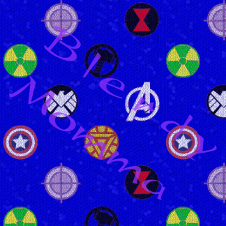 Marvel Avengers Assemble fabric