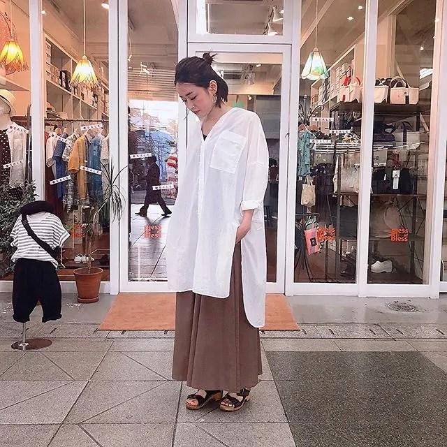 ..tops...#mizuiroindpants...#clocheshoes...#expert159㎝...営業時間 10:00〜19:00.#愛媛#松山#大街道#ehime#matsuyama#BlessofBless#セレクトショップ#19ss#今日のコーディネート#お洒落さんと繋がりたい - from Instagram