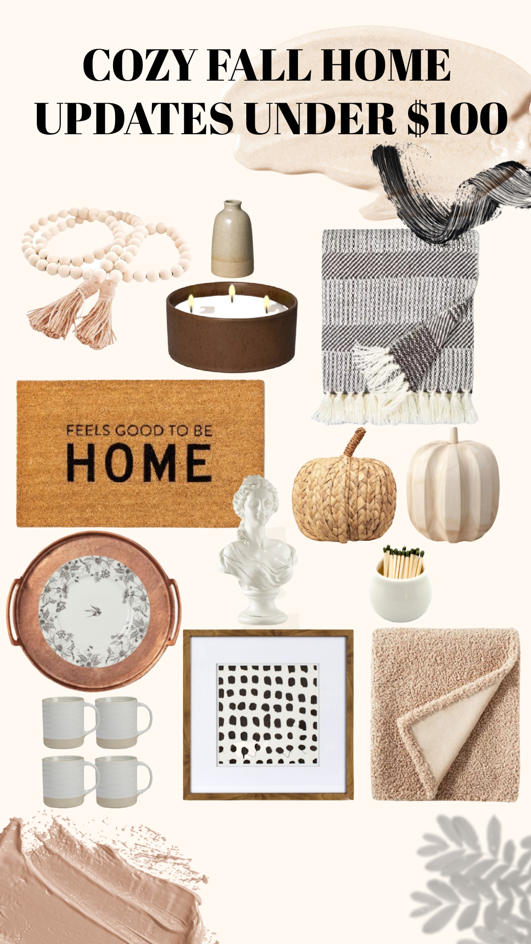 Cozy Fall Home Updates Under 100 Blessed And Overdressed