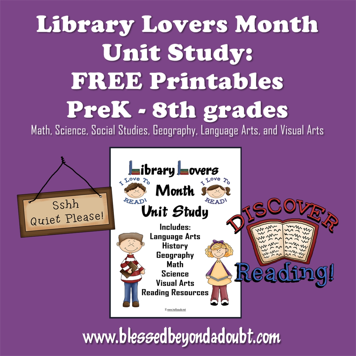 Library Lovers Month Unit Study