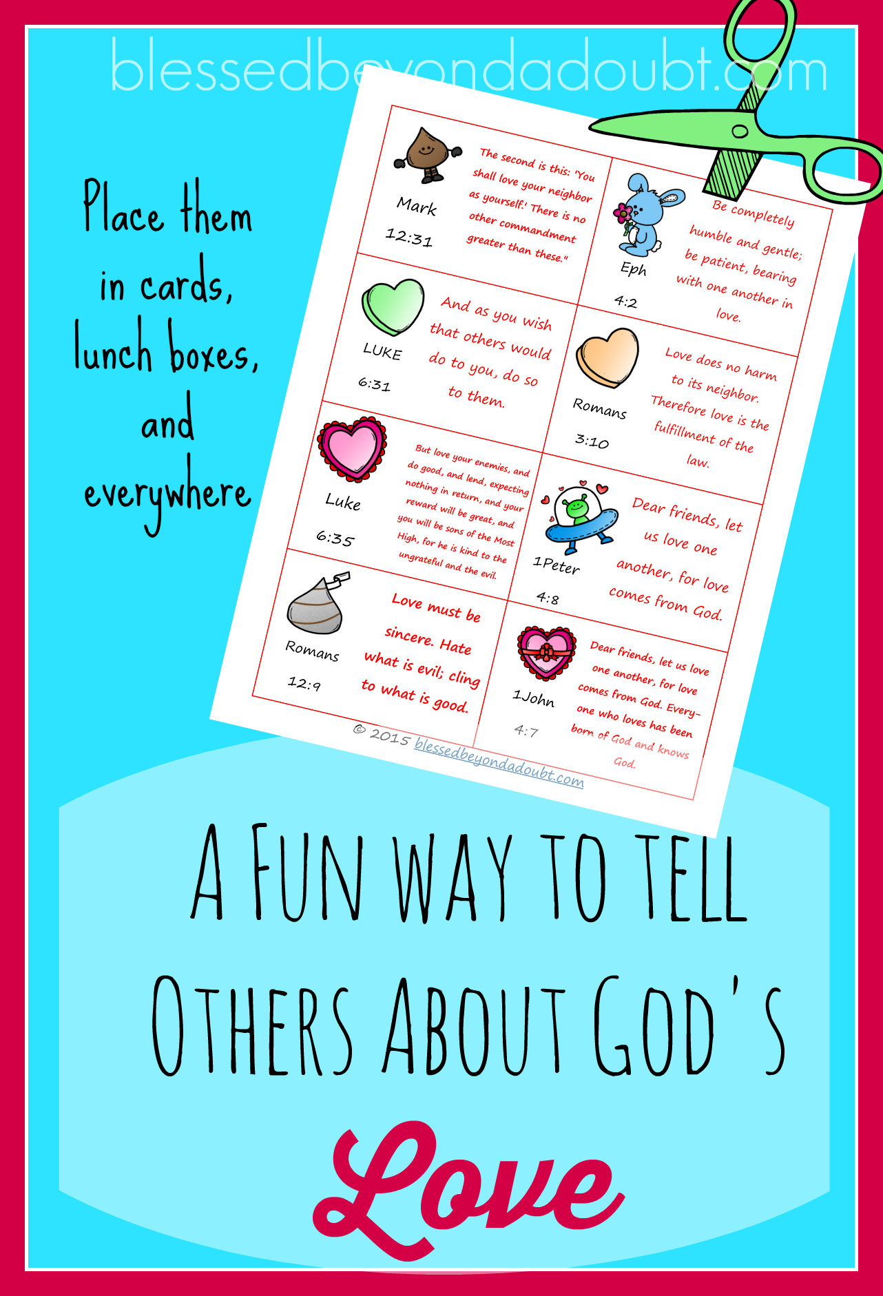 Free God S Love Notes Printable Card Great Ideas