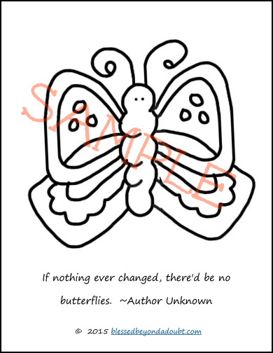 hope your kiddos enjoy these butterfly coloring sheets