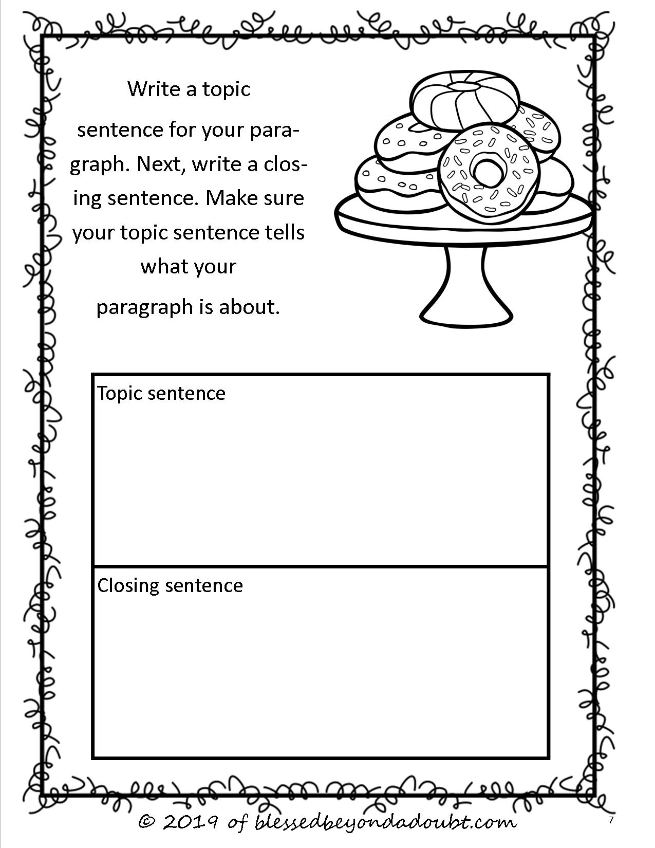 Free Persuasive Writing Packet