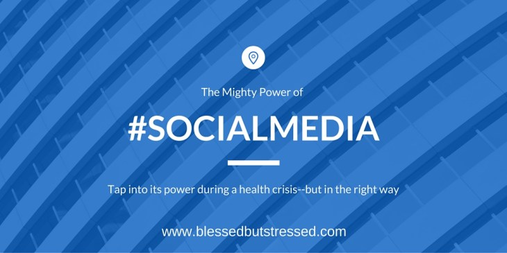 How to use social media to raise support for a sick person