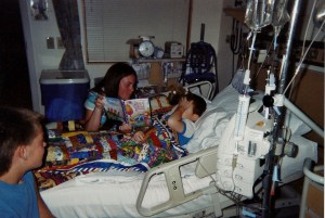 Another precious memory captured on film acts as a signpost in remembering the journey from cancer to health in Andrew's life.
