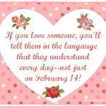Goodbye Valentine's Day