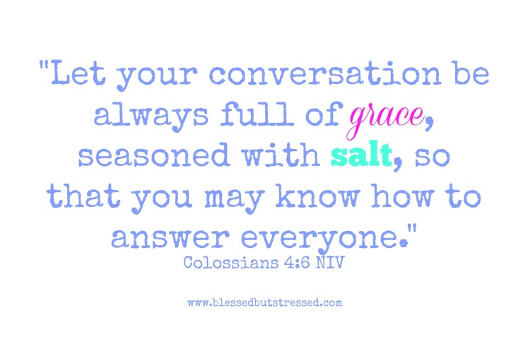 Is Your Saltiness Balanced?