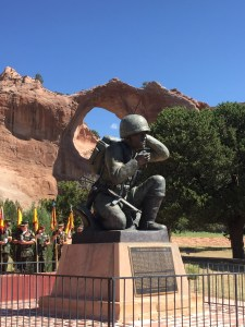 Navajo Code Talker Monument