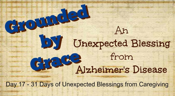 In the midst of loving someone with Alzheimer's, God grace shines through