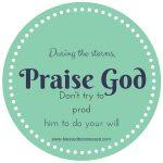 Standing in the Need of Intercessory Prayer