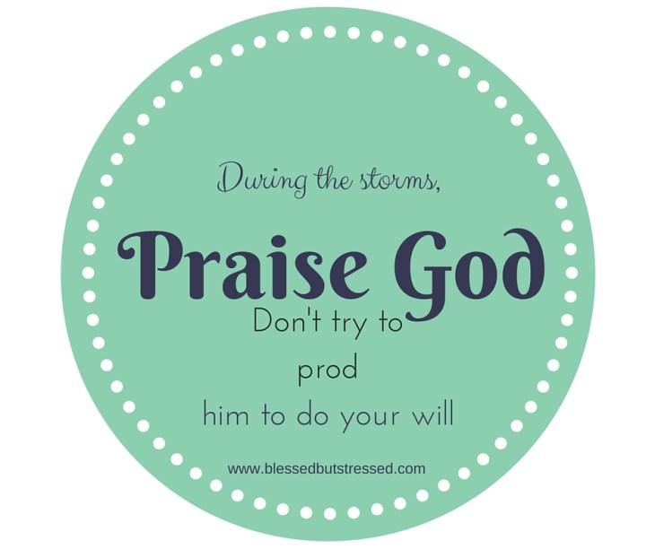 Praise, don't Prod