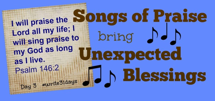 God lets us know, through unexpected ways, that He will never leave us. Sometimes that way is through song.