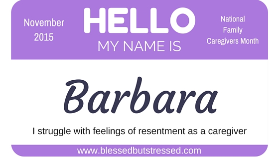 battling resentment during caregiving