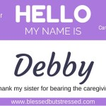 A Tribute to A Sister Who Bears the Burden of Caregiving