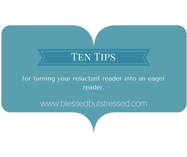 Transform your reluctant reader